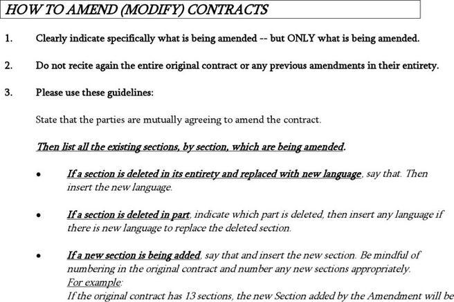 Amendment to Sales Contract Template amp Sample Form 9471722 - pacte ...