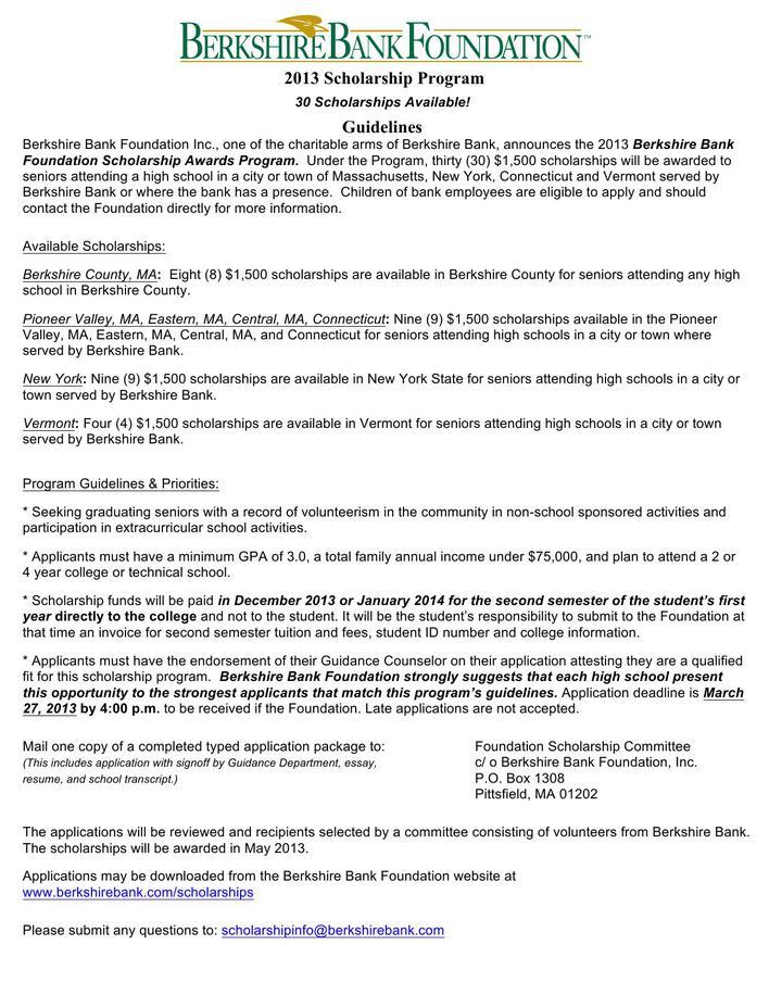 sample scholarship essay questions