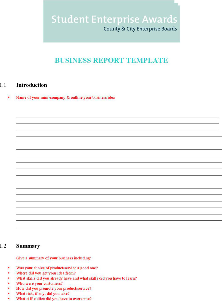 Word report template examples datariouruguay report layout template word templates data accmission Images