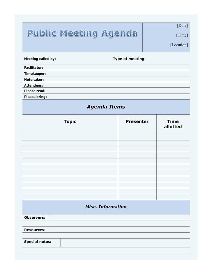blank meeting minutes template | datariouruguay