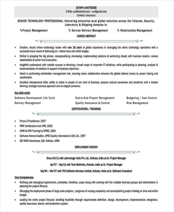 Sr Executive Assistant Resume Excel Homework