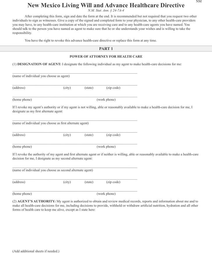 advance directive forms - solarfm.tk