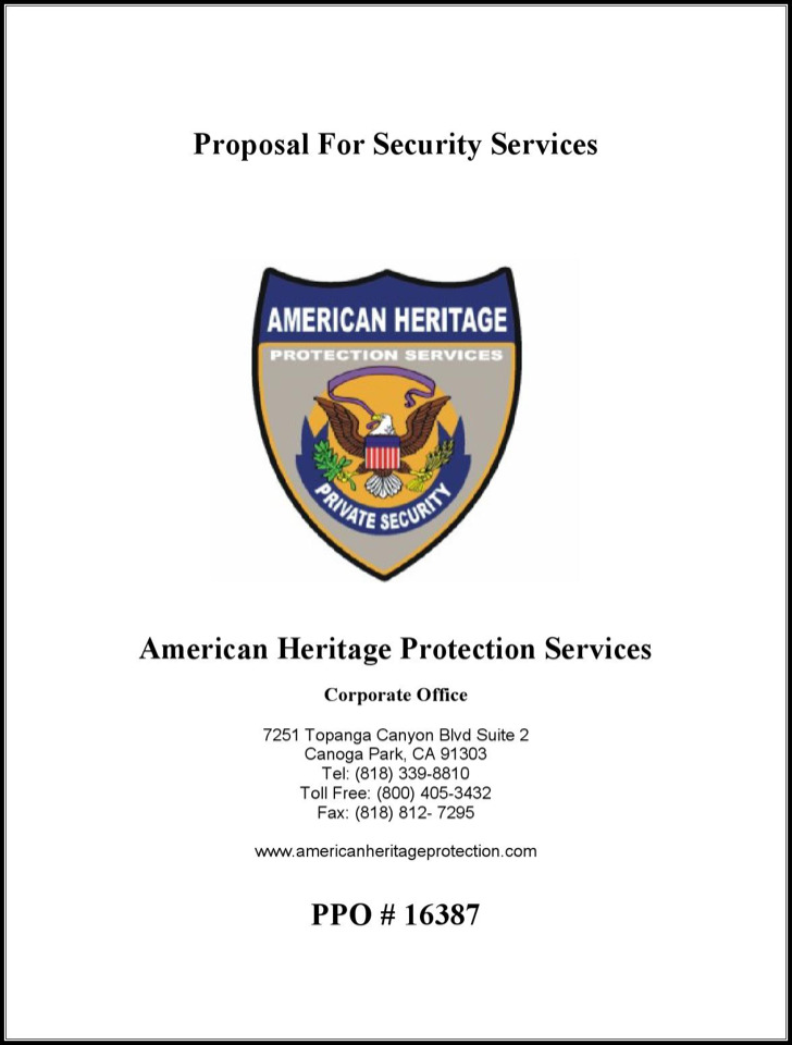security proposal template get free sample pandadoc 172879