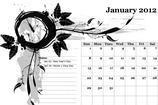 2012 Calendar Template