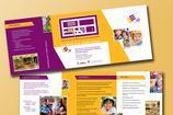 Beautiful Child Care Brochure Templates