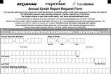 Annual Credit Report Request Template