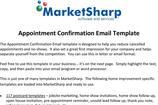 Confirmation Email Templates