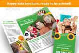 Kindergarten Brochure Templates