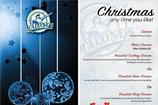 Christmas Menu Samples