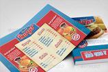 Fast Food Brochures