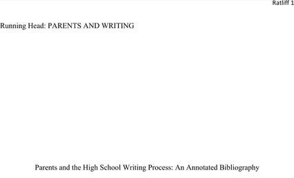 Blank Annotated Bibliography Templates