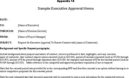 Itinerary Template – Executive Memo Template