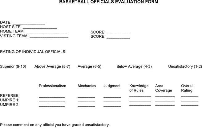 Evaluation Form  Download Free  Premium Templates Forms