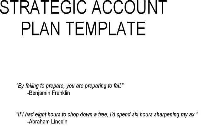 Strategy Templates