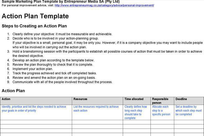Strategic Life Plan Templates