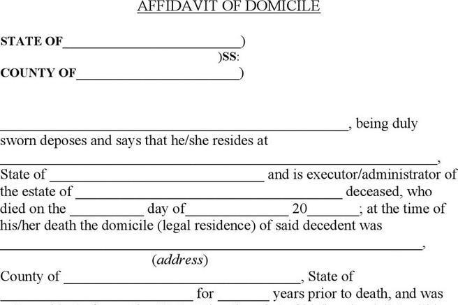 Generic Affidavit Canada Affidavit Of Execution Canada Affidavit