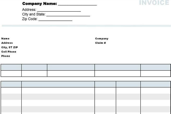 download cell phone repair invoice template   rabitah, Invoice templates