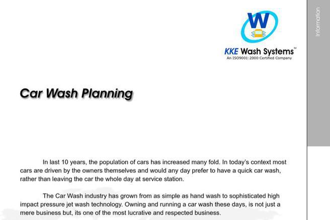 Car Wash Business Plan Templates