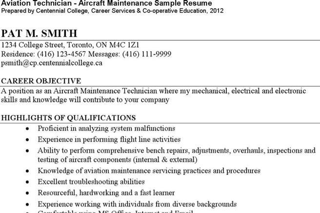 ... Templates Pilot Resume Template