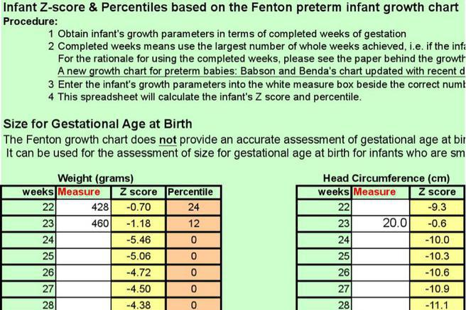 Baby Growth Chart Template | Download Free & Premium Templates ...