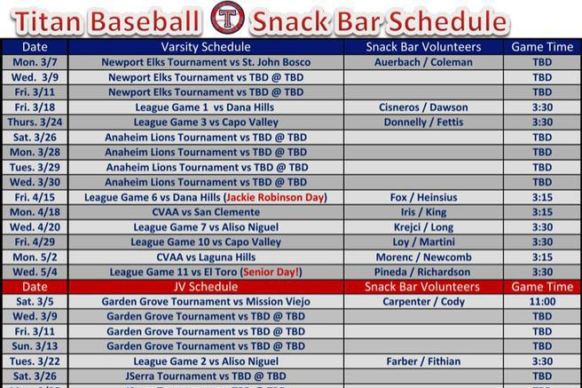 Schedule template download free premium templates for Baseball schedule template free