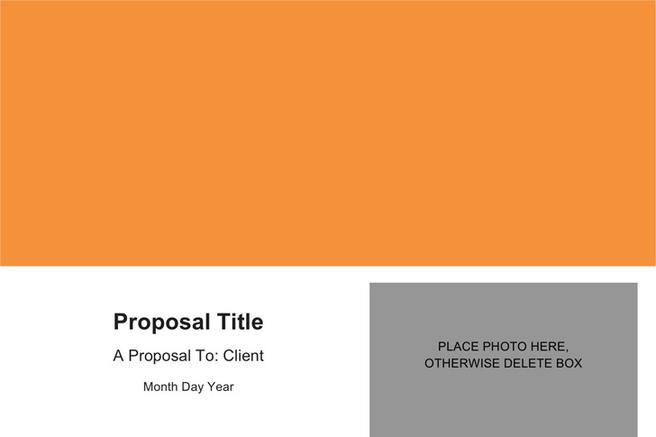 Sales Proposal Template · Generic Business Proposal Template