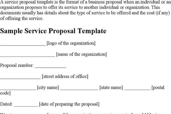 Proposal Template  Download Free  Premium Templates Forms