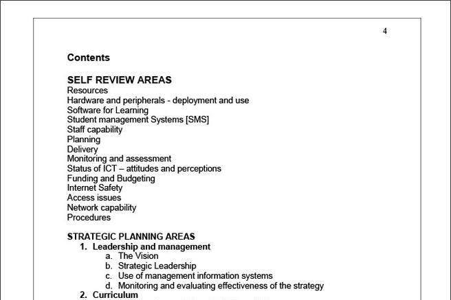 Strategic Planning Process Templates
