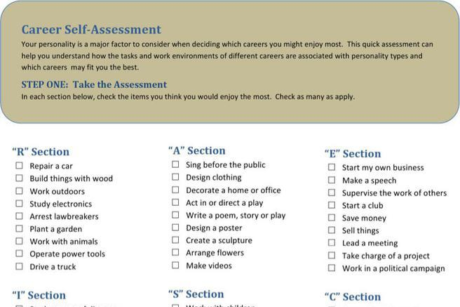 Self Assessment Templates  Download Free  Premium Templates