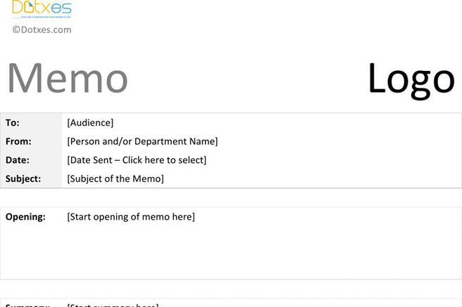 Memo Template Company Memo Template Sample Memo   Documents