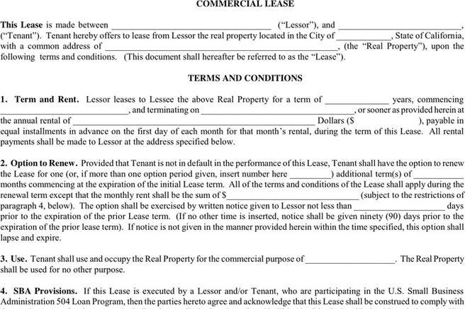 Commercial Lease Termination Agreement Lease Termination Forms By – Sample Commercial Lease Agreement