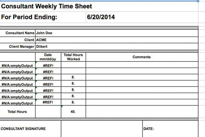Monthly Timesheet Premium Sample Payroll Timesheet  Documents In