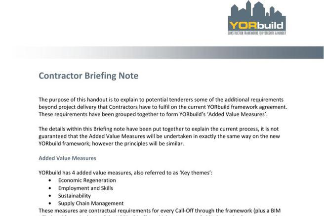 Briefing Note Template | Download Free & Premium Templates, Forms