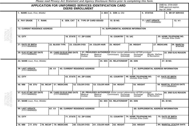 Dd Form 1172 | Download Free & Premium Templates, Forms & Samples ...