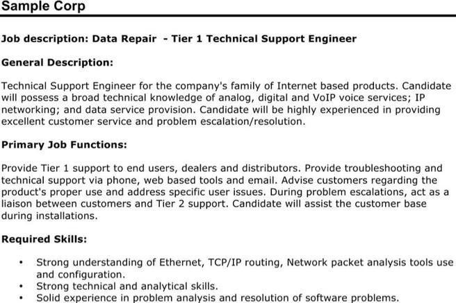 6  technical resume templates free download