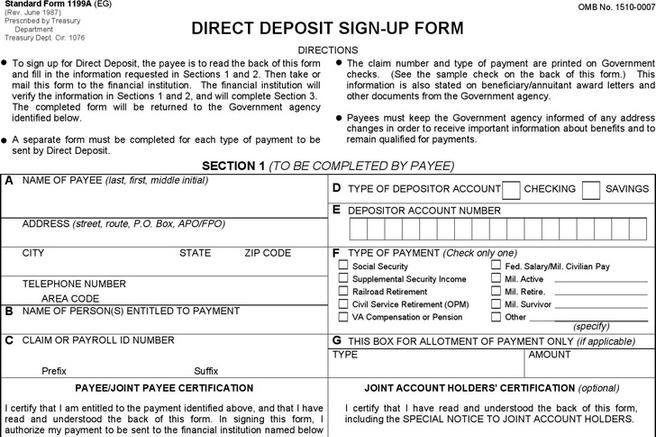 Deposit Form | Download Free & Premium Templates, Forms & Samples