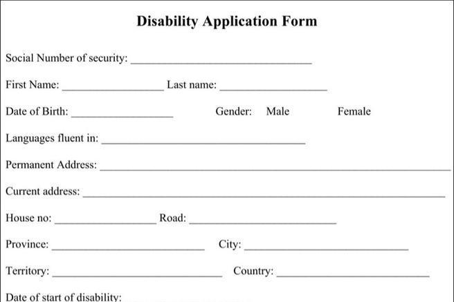 Application Form – Sample Medicare Application Form