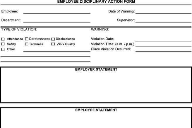 Employees Write Up Templates  Download Free  Premium Templates