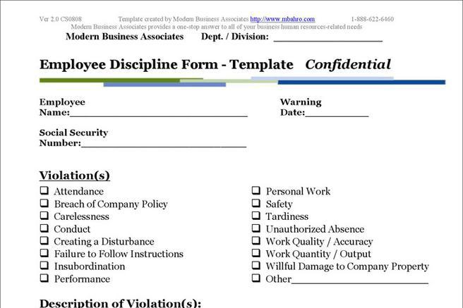 100 discipline form template electronic discipline employee form download free u0026 premium templates forms u0026 samples pronofoot35fo Images