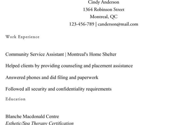 esthetician resume template download best salon manager resume