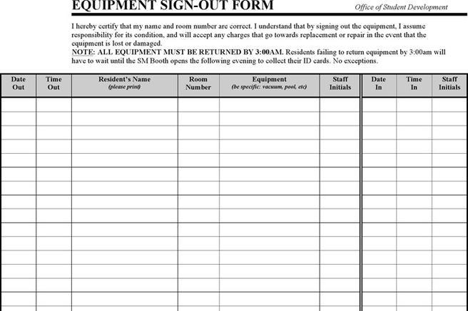 Sign In Sheet Template | Download Free & Premium Templates ...