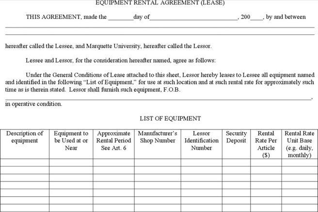 Simple Rental Agreement Templates  Download Free  Premium