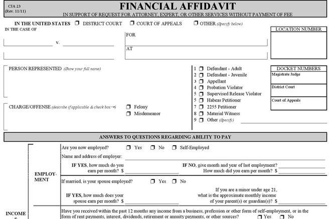 Affidavit Form | Download Free & Premium Templates, Forms