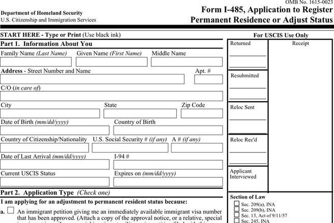 Citizenship Form Citizenship Application Form Sample Application