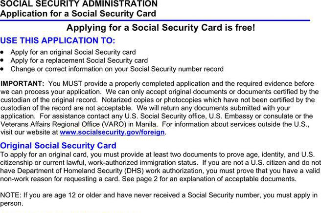 Stunning Social Security Form Ideas - Best Resume Examples For