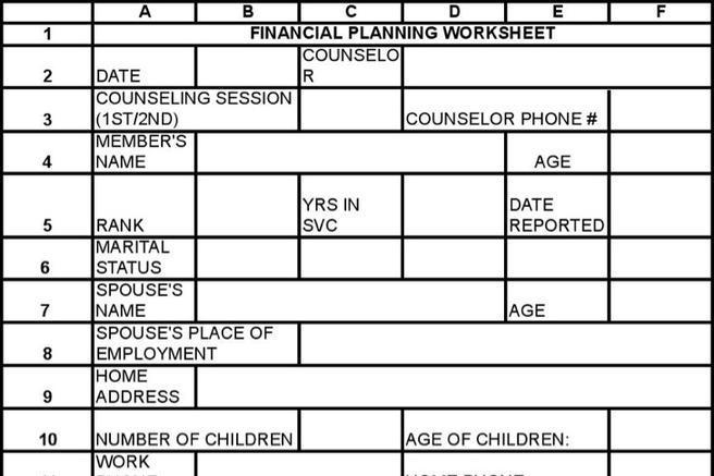 Worksheet Template – Worksheet Templates