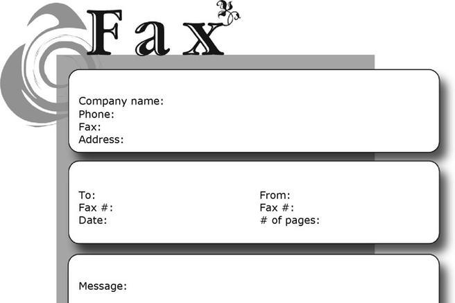 Funny Fax Cover Sheets  Download Free  Premium Templates Forms