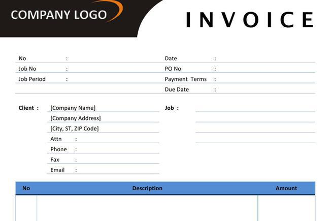 Invoice Template  Download Free  Premium Templates Forms
