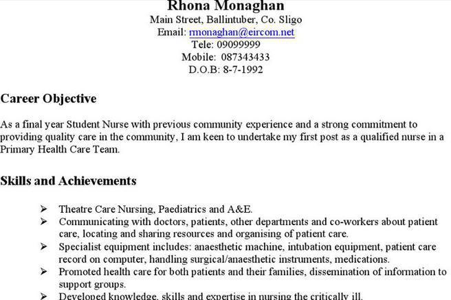 3 Housekeeping Resume Templates Free Download