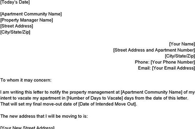 Notice to vacate apartment letter 29 images of apartment 60 day intent to vacate letter intent to vacate letter florida writing a spiritdancerdesigns Choice Image
